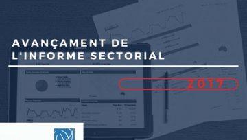 Avançament  de l'informe sectorial del club Cecot d'Internacionalització