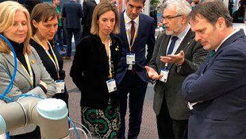 Una delegació empresarial acompanya la consellera Chacón a Alemanya per participar a la fira més important del món d'indústria 4.0